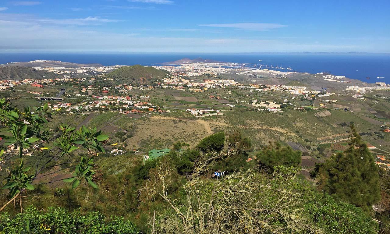 Ausblick vom Pico de Bandama