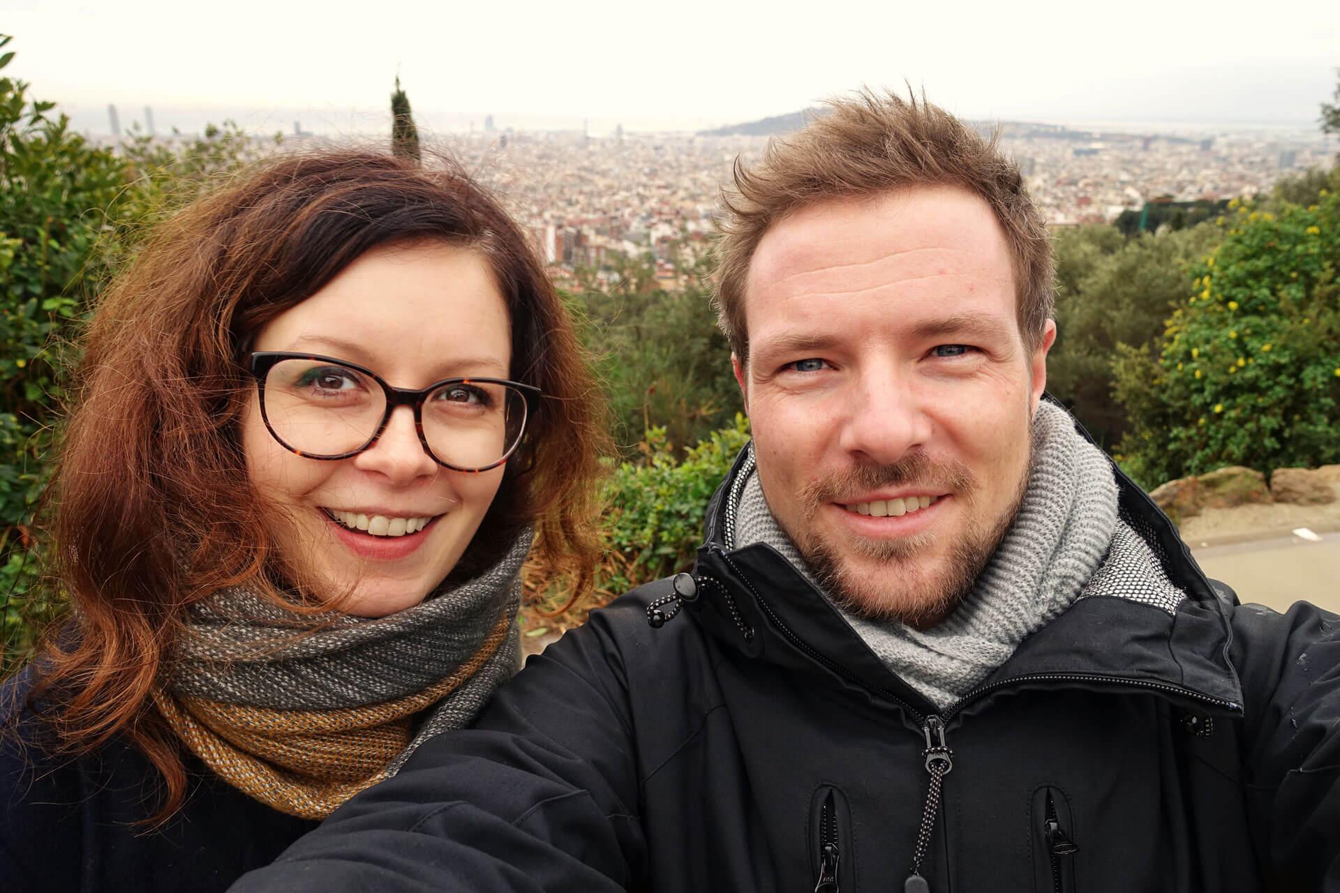 Ausblick über Barcelona