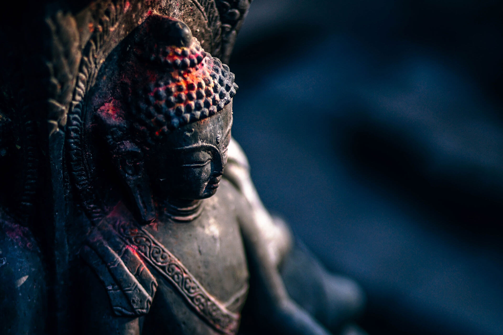 Bali Indonesien Statue