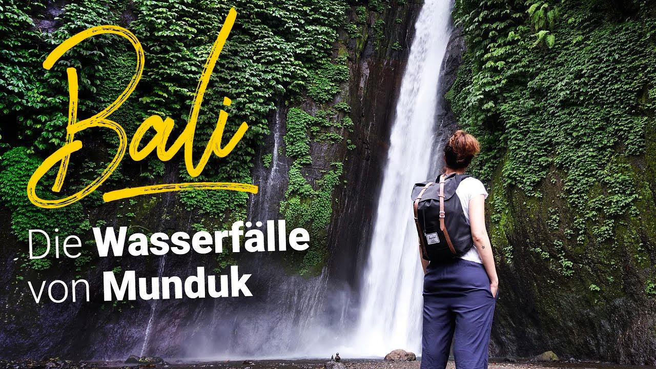 Wasserfälle von Munduk
