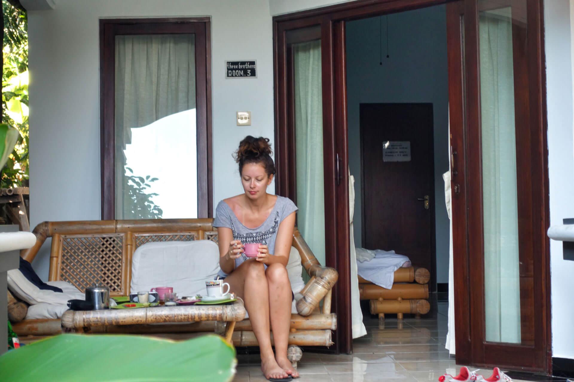 Unterkunft Amed auf Bali