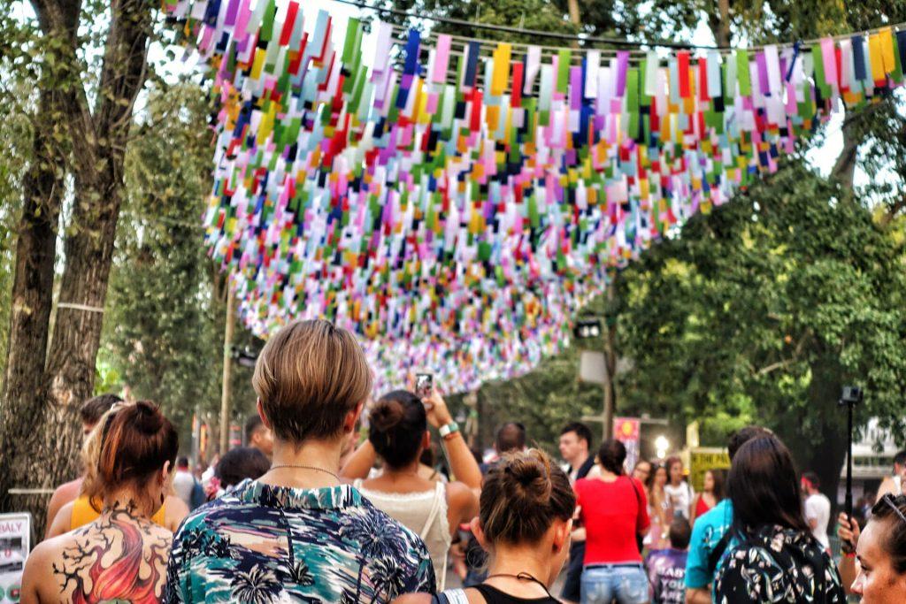 Sziget Festival Budapest Eingang
