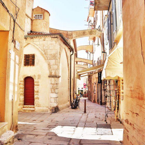 Die Alstadt von Bonifacio