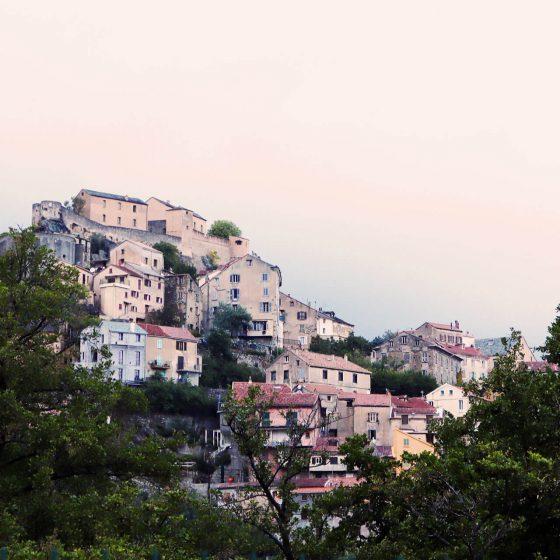 Corte Oberstadt Korsika