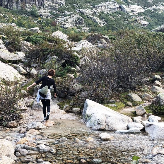 Wanderung Lac Melau Korsika
