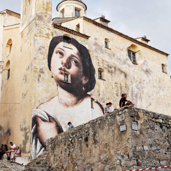 Kirche im Zitadellenviertel von Calvi - Korsika