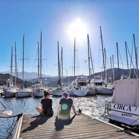 Korsika Hafen St. Florent