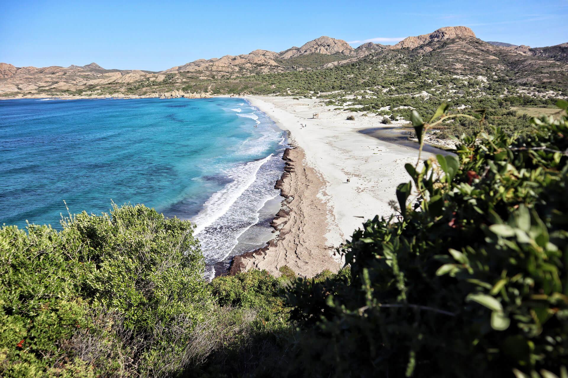 Strand von Ostriconi Korsika