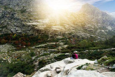 Das Restonica Tal auf Korsika Wanderung Lac de Melu