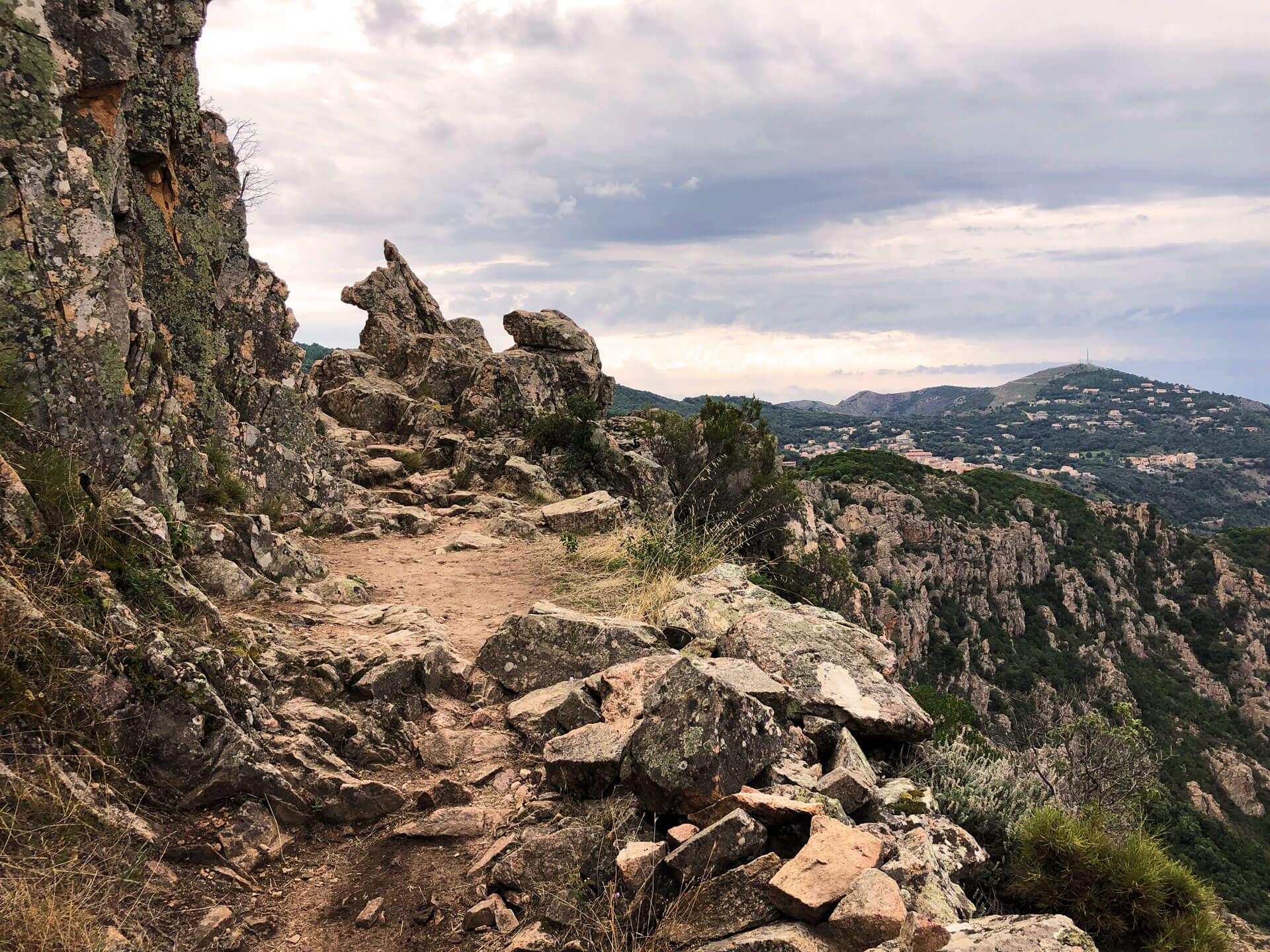 Wanderweg Calanche die Piana