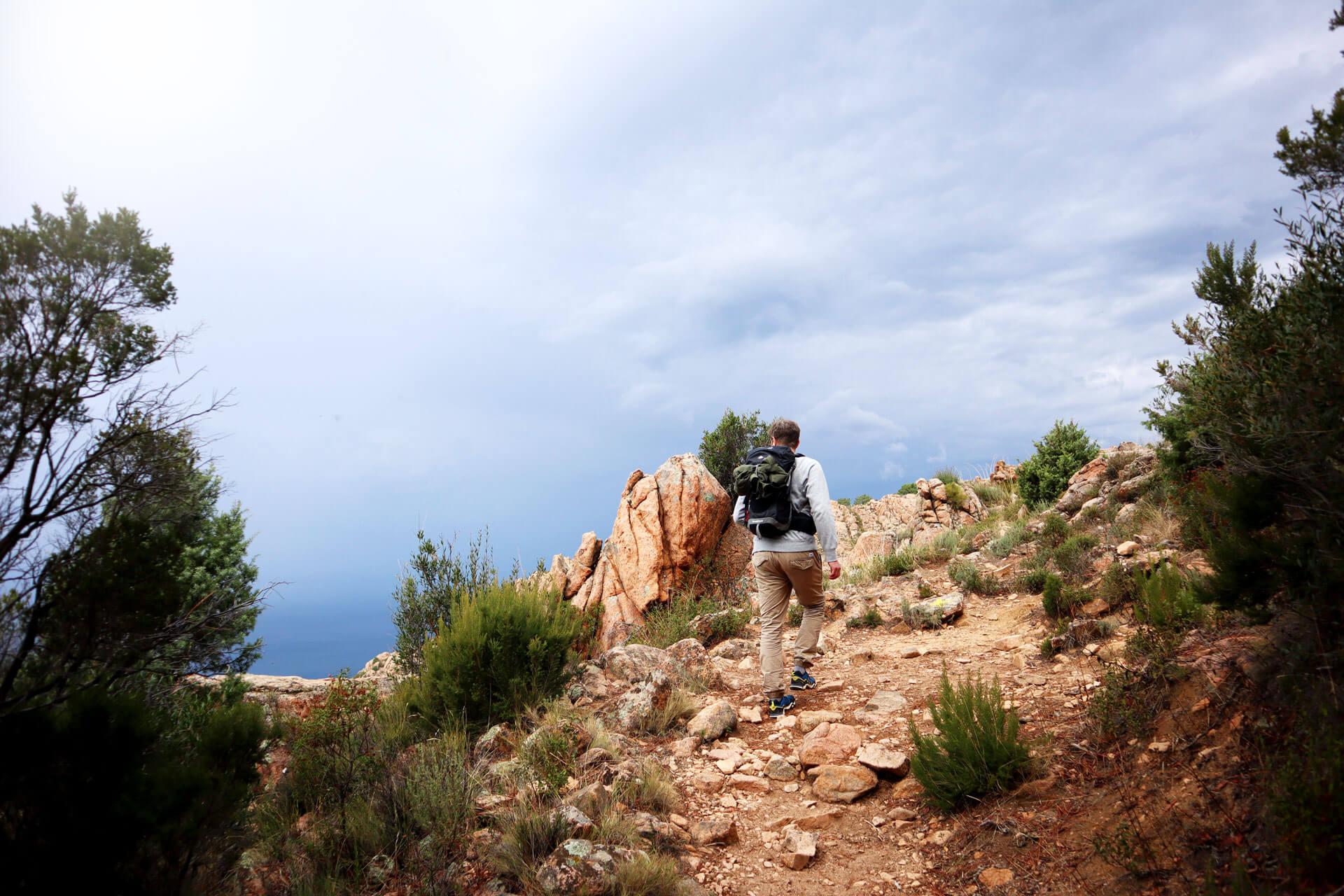 Wanderung Calanche di Piana