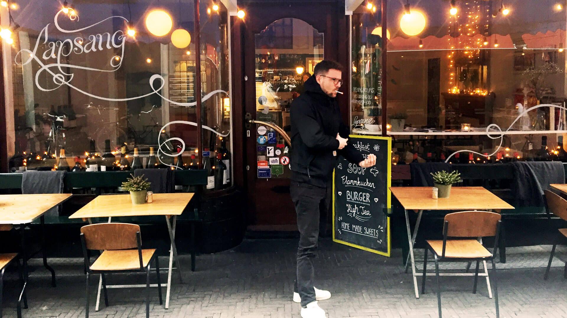 Weinbar Lapsang in Den Haag
