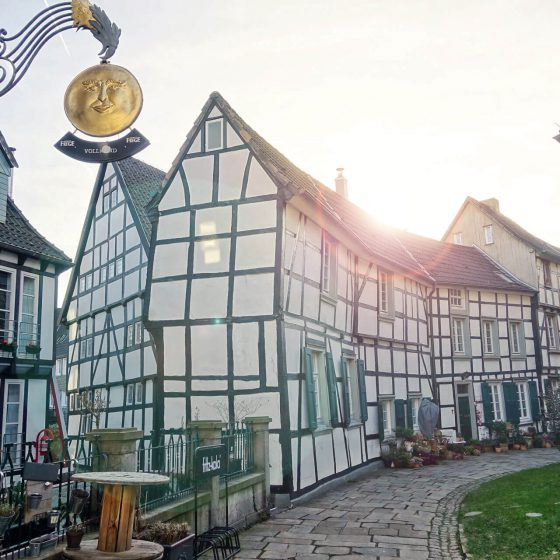 Kirchplatz in Hattingen