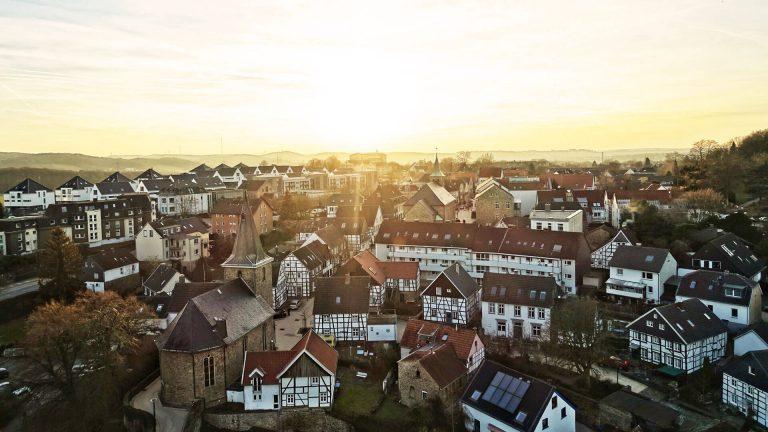Hattingen Altstadt von oben