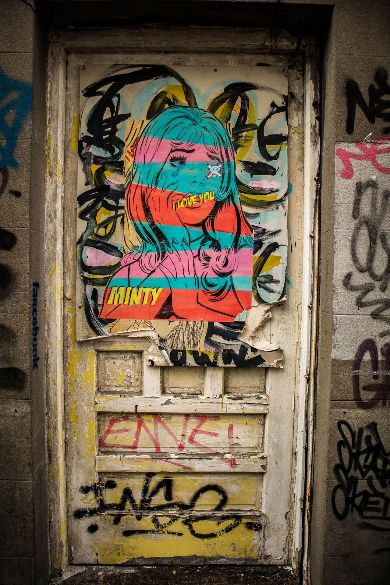 Brighton Streetart Minty
