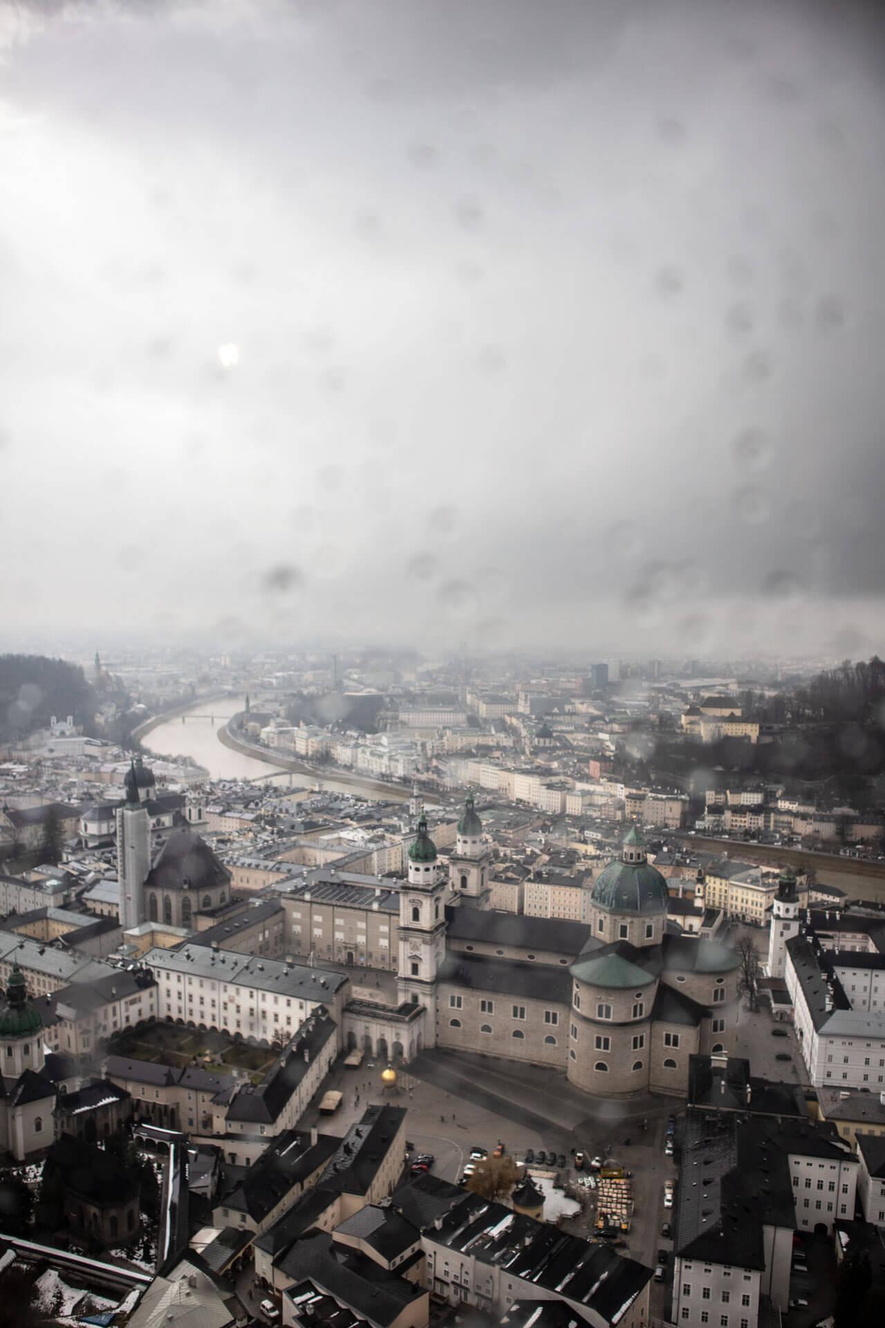 Ausblick von der Hohensalzburg