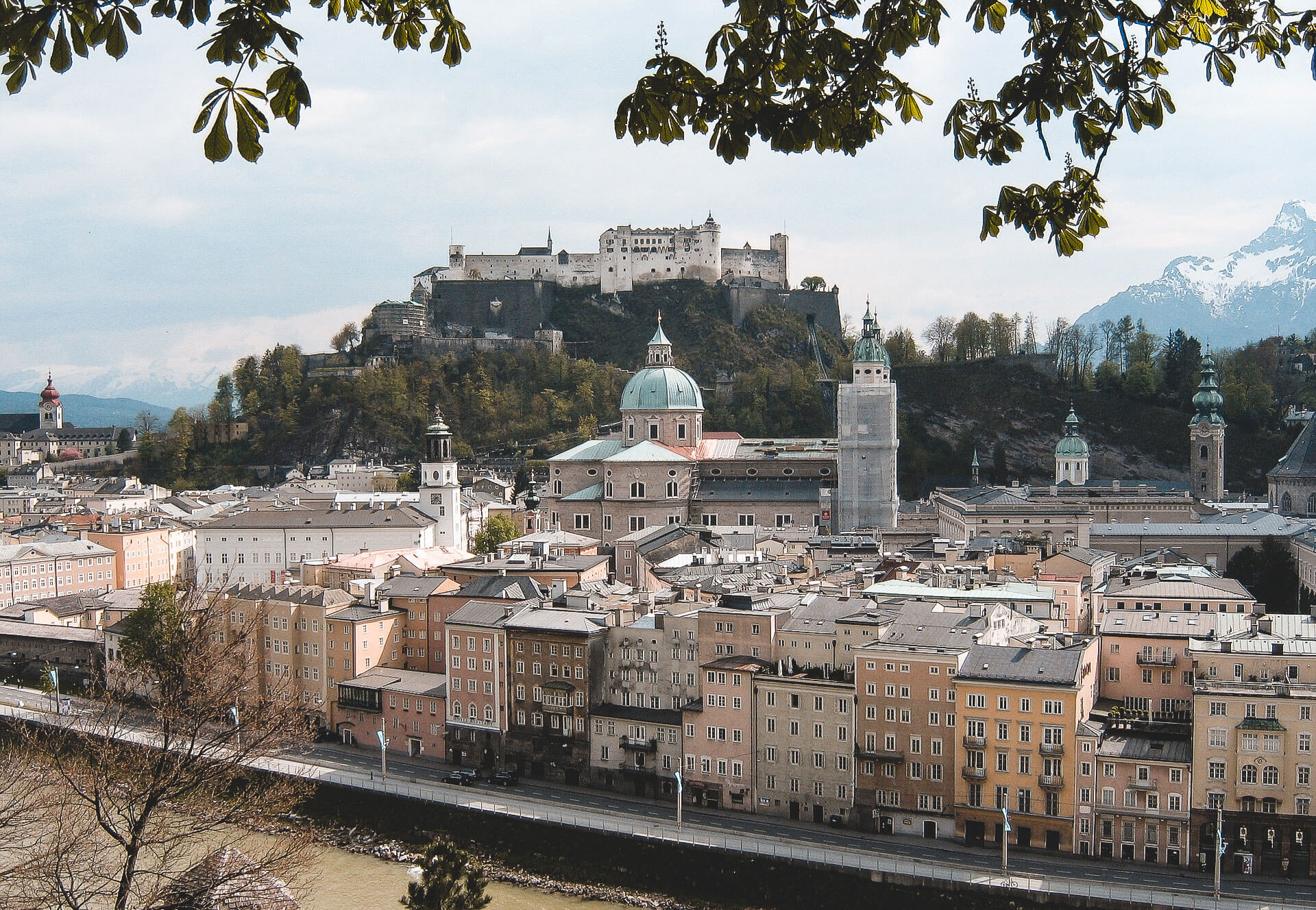 Panorama von Salzburg