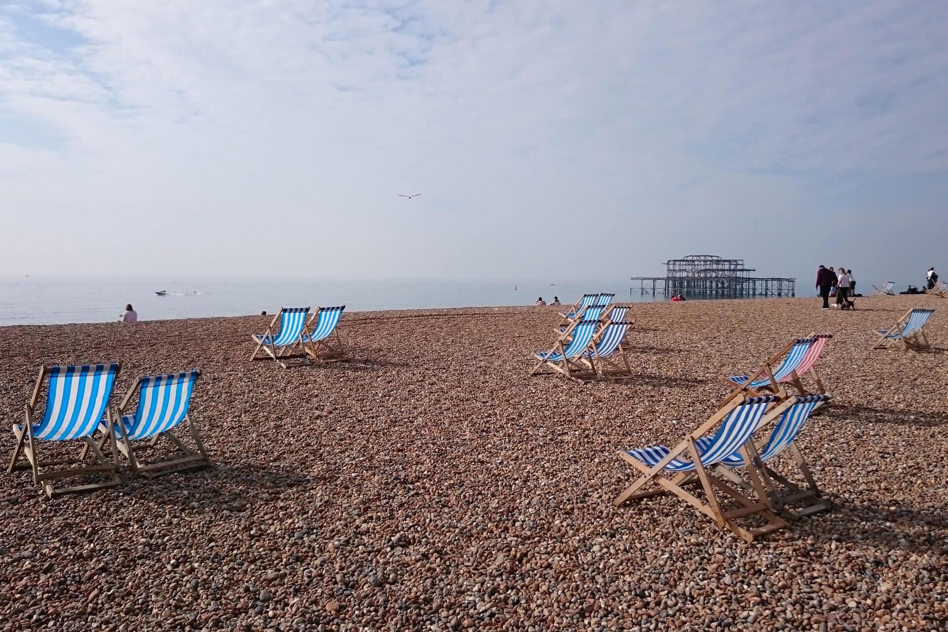 Strand von Brighton