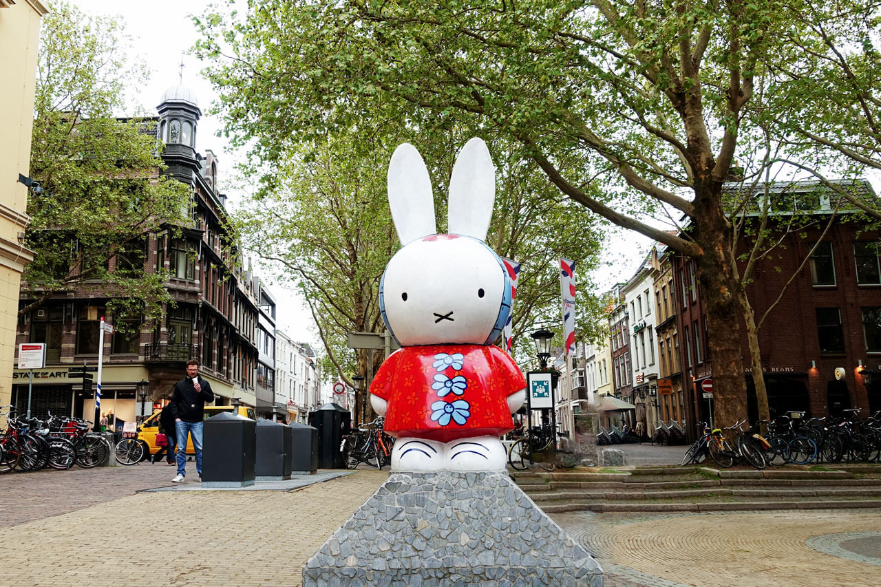 Miffy Statue in Utrecht